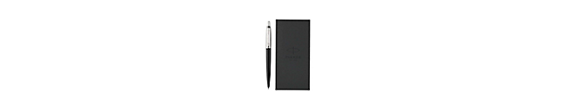 Parker Jotter Ballpoint Pen with Notebook Gift Set - Black