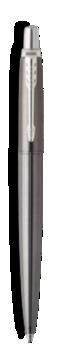 Jotter Premium Oxford Grey Pinstripe Chrome Trim Gel