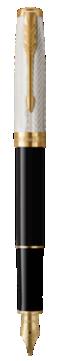 SonnetFougère et NoirGT Stylo plume, Moyenne Nib