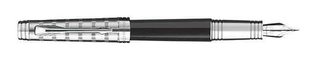 Premier Custom Tartan Fountain Pen - Fine 18K gold nib