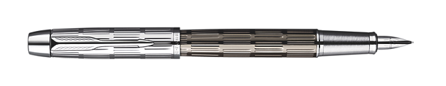 IM Premium Twin Metal Chiselled Fountain Pen - Medium stainless steel nib