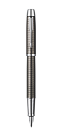 IM Premium Deep Gun Metal Chiselled Fountain Pen - 50% OFF