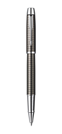 IM Premium Deep Gun Metal Chiselled Rollerball