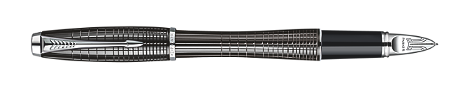 Urban Premium Metallic Black Chiselled with Parker 5THTM