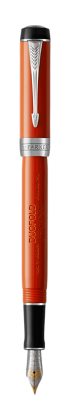 Image for Duofold Classic Big Red Vintage Fountain Pen - Fine nib from Parker UK