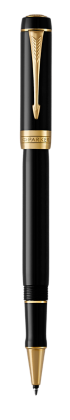 Image for Duofold Classic Black Rollerball Pen - Fine  nib from Parker UK