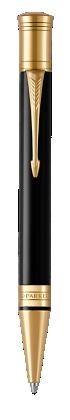 Parker JP の デュオフォールド クラシック ブラックGT ボールペン の画像