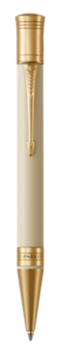 Duofold Classic Ivory & Black Ballpoint Pen - Medium nib