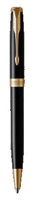 用于 Parker China 中 卓尔纯黑丽雅金夹原子笔 的图像