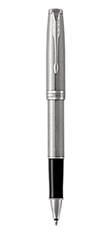 Sonnet Stainless Steel Rollerball Pen With Chrome Trim Fine Point