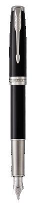 Image for Sonnet Black Lacquer Fountain pen  (gold nib) - Medium nib from Parker UK