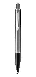 Urban Metro Metallic Retractable Ballpoint Pen With Chrome Trim Medium Point