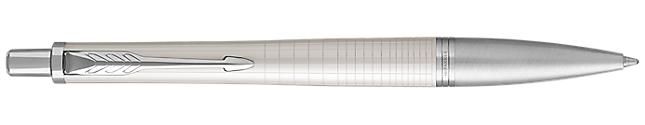 Urban Premium Pearl Metal Retractable Ballpoint Pen With Chrome Trim Medium Point