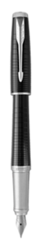 Urban Premium New Ebony Metal Fountain Pen - Fine nib