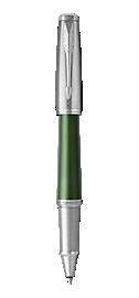Urban Premium Green Rollerball Pen With Chrome Trim Fine Point