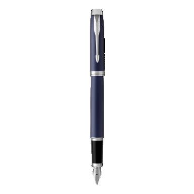 IM蓝色白夹墨水笔