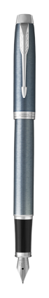 Image for IM Light Blue Grey Fountain Pen - Fine nib from Parker UK