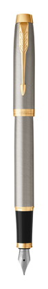 Image for IM Brushed Metal Fountain Pen - Fine nib from Parker UK