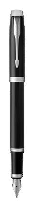 Image for IM Black Chrome Fountain Pen - Medium nib from Parker UK