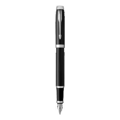 IM Black Chrome Fountain Pen - Medium nib
