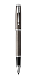 IM Lacquered Dark Espresso Rollerball Pen With Chrome Trim Fine Point