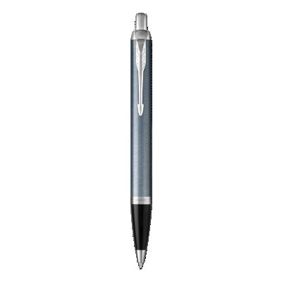IM浅蓝灰白夹原子笔
