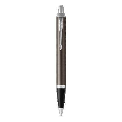 IM金属灰白夹原子笔