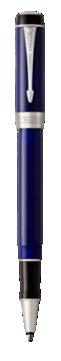 Duofold Classic Blue & Black Rollerball Pen - Fine  nib