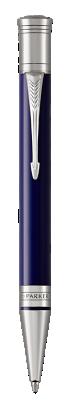 Parker JP の デュオフォールド クラシック ブルー&ブラックCT ボールペン の画像