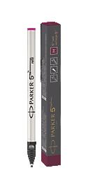 Parker 5TH<sup>TM</sup> Refill Ink For Ingenuity Pen Medium Nib In Red Burgundy
