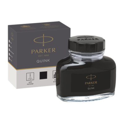 Quink Bottle - Black ink