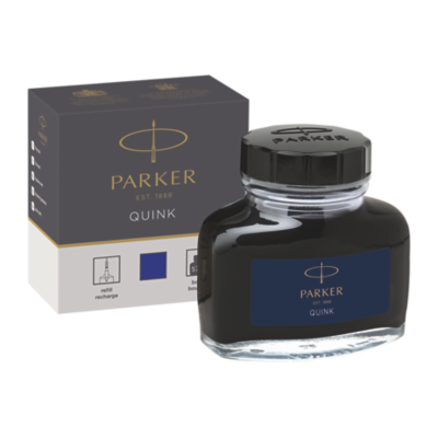 Quink Bottle - Blue ink