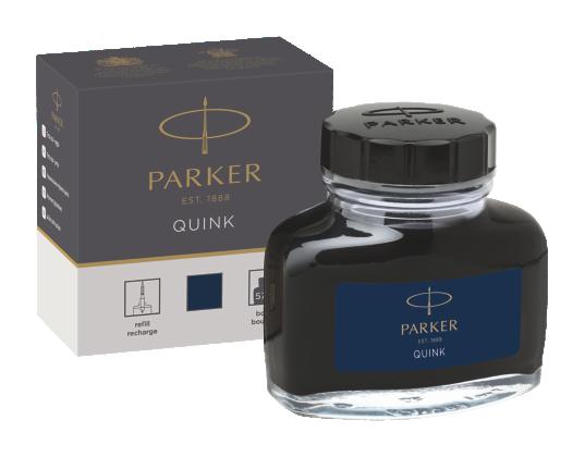 Image for Quink Bottle - Blue/Black ink from Parker UK