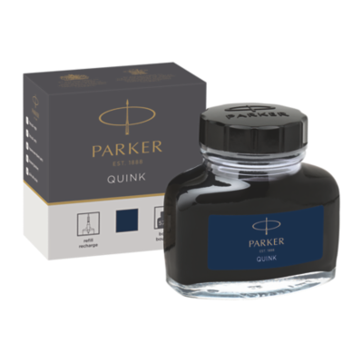 Quink Bottle - Blue/Black ink