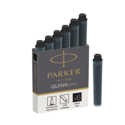 Quink Mini Cartridge - Black ink