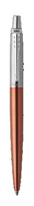Image for Jotter Chelsea Orange Chrome Trim Ballpoint  pen from Parker UK