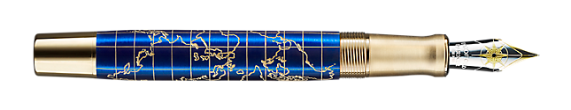 Parker 2018 Limited Edition The Craft of Travelling Fountain Pen - Fine Nib