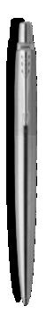 Jotter Acier inoxydable Stylo gel, point moyenne, encre noire