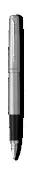 Jotter Acier inoxydable Stylo-plume, plume moyenne, encre bleue