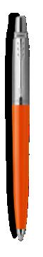乔特复古橙凝胶水笔,细笔尖