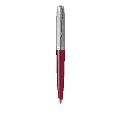 PARKER 51 Burgundy Resin Chrome Trim Ballpoint Pen