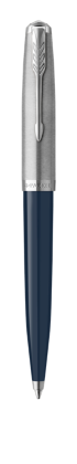 Image for PARKER 51 Midnight Blue Resin Chrome Trim Ballpoint Pen - Medium Point from Parker UK