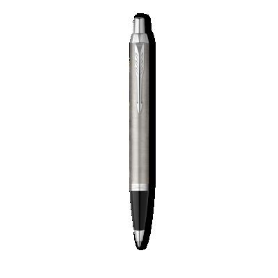 Parker IM Stainless Steel with Chrome Trim, Ballpoint Pen, Medium nib