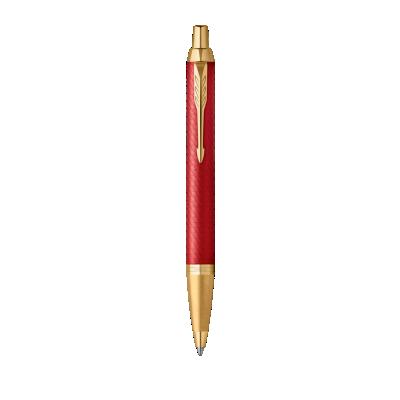 IM Premium 原子笔  宝石红金夹 -  中号 Nib