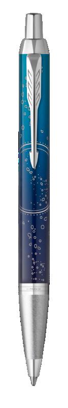 Parker IM Submerge Ballpoint Pen Premium Blue CT - Medium nib
