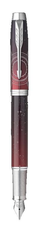 Parker IM Portal Fountain Pen Premium Red CT - Fine nib