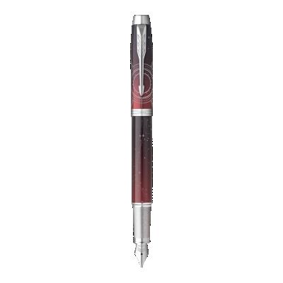Parker IM Portal Fountain Pen Premium Red CT - Medium nib