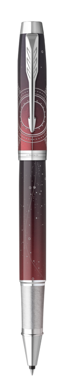 Parker IM Portal Rollerball Pen Premium Red CT - Fine nib