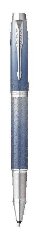 Parker IM Polar Rollerball Pen Premium Grey CT - Fine nib
