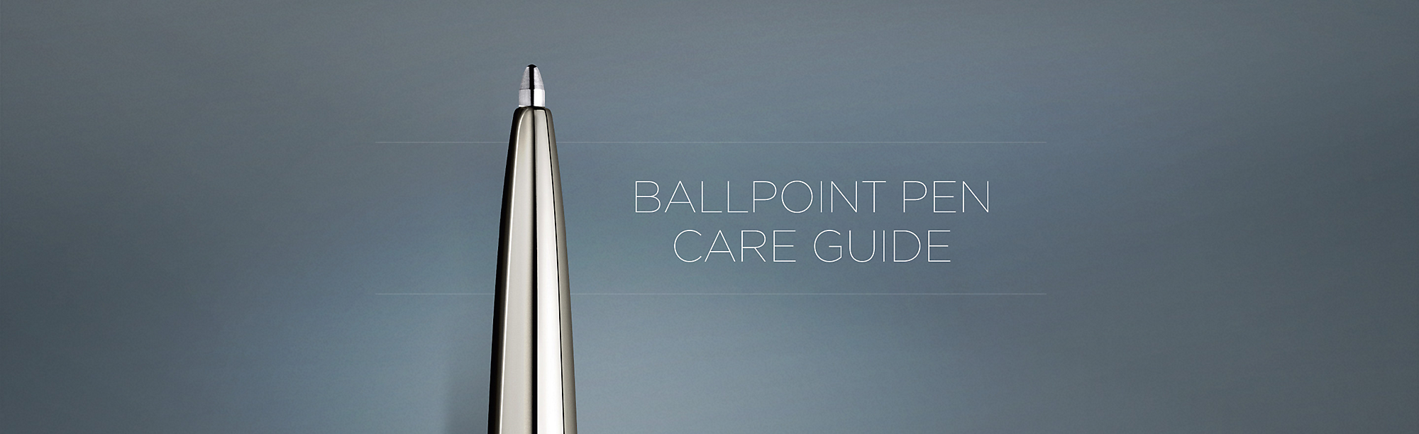 Ballpoint Care Pen Guide